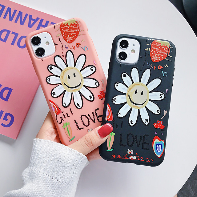 Case For Apple iPhone 11 / iPhone 11 Pro / iPhone 11 Pro Max Shockproof / Frosted Full Body Cases / Bumper Cartoon Silica Gel