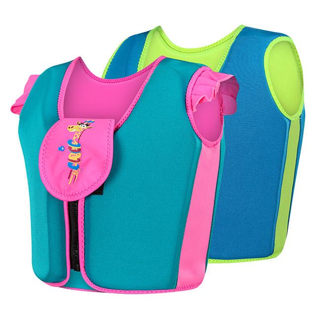 Life Jacket Fast Dry Wearable Swimming Nylon Neoprene EPE Foam Swimming Water Sports Sailing Life Jacket for Kids