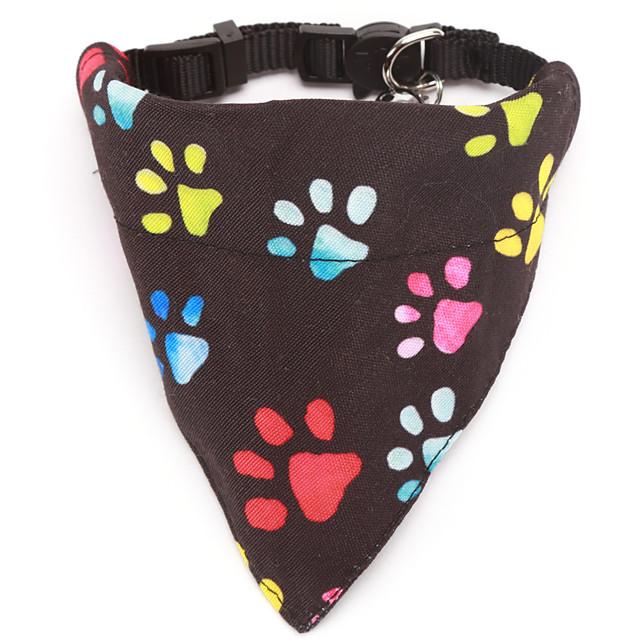 Dog Cat Bandanas & Hats Dog Bandana Dog Bibs Scarf Cartoon Casual / Sporty Cute Christmas Birthday Dog Clothes Adjustable Costume Cotton S M L XL