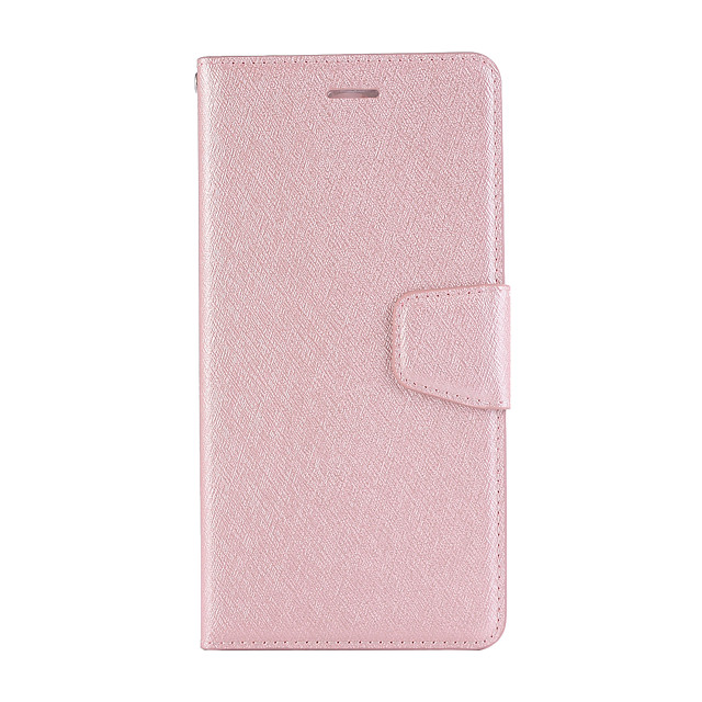 Case For Nokia 6 6.1plus 7.1 x7 5.1  Card Holder Flip Magnetic Full Body Cases Solid Colored PU Leather textured