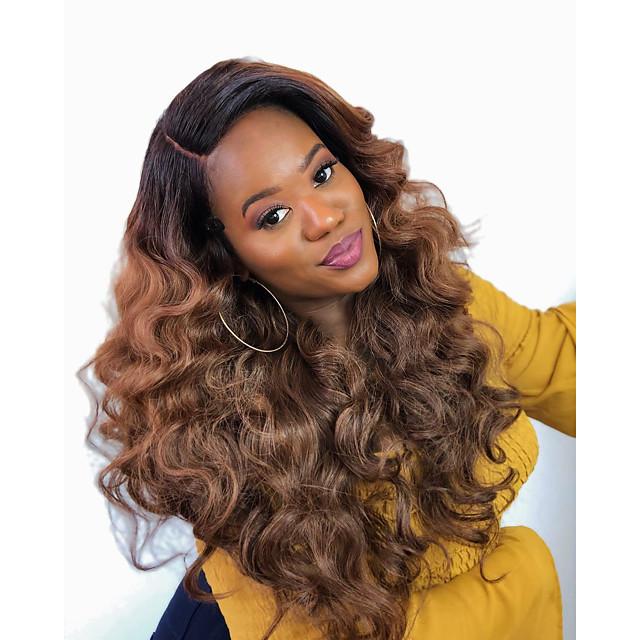 3 Bundles Hair Weaves Brazilian Hair Body Wave Human Hair Extensions Human Hair 300 g Weave 10-24 inch Brown Natural
