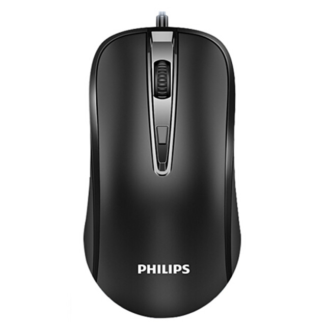 PHILIPS M214 Portable Wired 2.4G USB Laser Office Mouse for PC Laptop