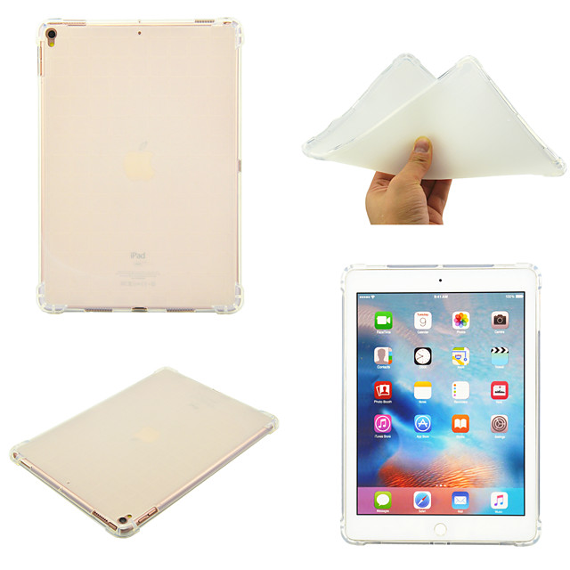 Case For Apple iPad 10.2''(2019)  iPad Pro 10.5  Ipad air3 10.5' 2019 360 Rotation  Shockproof Back Cover Solid Colored TPU
