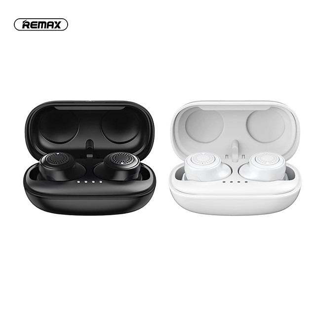 Remax TWS-2S TWS True Wireless Earbuds Bluetooth5.0 Stereo HIFI with Charging Box for Sport Fitness