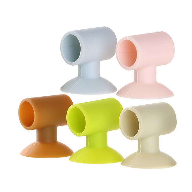 Wall sticker Multifunction / Reusable Basic / Modern Contemporary Silicone 3pcs - tools Bath Organization