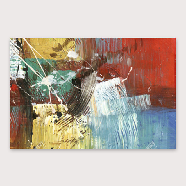 IARTS®Hand Painted abstract Oil Painting with Stretched Frame For Home Decoration With Stretched Frame