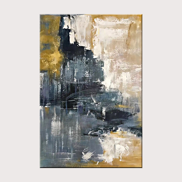 Abstract Decorative Oil Painting 100% Hand-Painted Modern Canvas Wall Art Living Room Bedroom Dining Room Wall Home Decoration