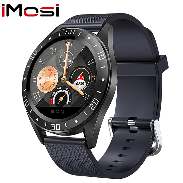 Imosi Smart Watch H5 Bluetooth Waterproof Heart Rate Monitor Blood Pressure Smartwatch Men Women Call Reminder Hot Sale