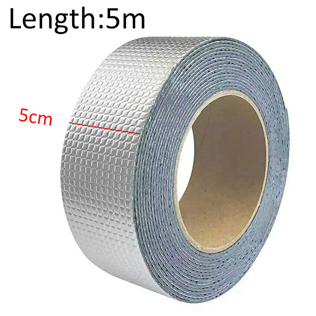 Super Strong Waterproof Tape Butyl Seal Rubber Aluminum Foil Tape Household Waterproof Repair Stickers
