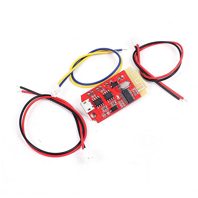 Bluetooth Module Power Amplifier Board CT14 Micro 4.2 Stereo 5VF 5W5W Mini with Charging Port for Refitting Idle Sound Box