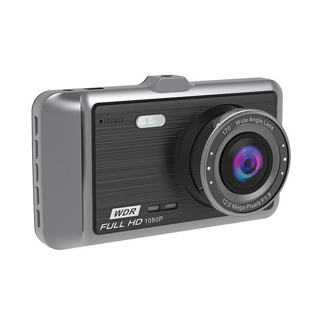 A60 Car Vehicle Multifunctional Supplies Classic Display 140 Degree Lens 1080p Full HD Car Dashcam with Rearview Camera