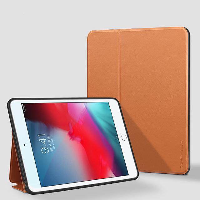 Case For Apple iPad Mini 4  iPad Mini 5  360 Rotation  Shockproof  Magnetic Full Body Cases Solid Colored PU Leather  TPU