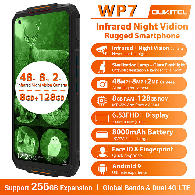 OUKITEL wp7 Super 6.53 inch
