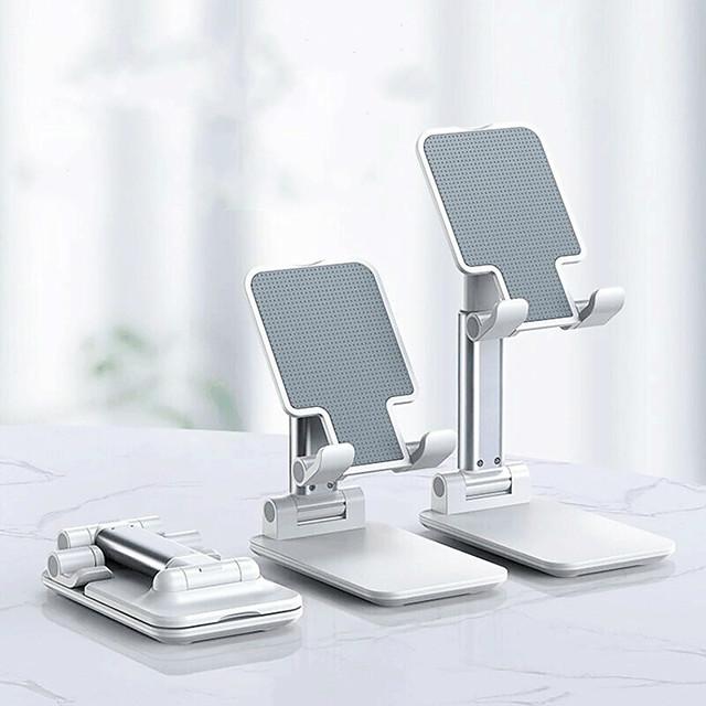 Holder Desk Mount Stand Holder Foldable Adjustable Stand ABS