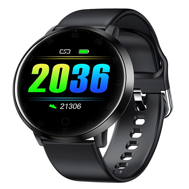 Smart Watch for Android and iOS Phone  surport swim super slim body5 D curved screen  Fitness Tracker Watch with Pedometer Heart Rate Blood Pressure oxygen Monitor Sleep TrackerSmartwatch Compatible