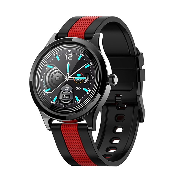 E6 Full Round Touch Smart Watch Men Sport Women Smartwatch IP68 Waterproof Heart Rate Monitor Weather forecast