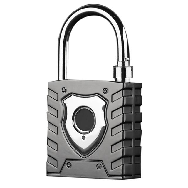 Intelligent Fingerprint Padlock Large Outdoor Waterproof Lock Warehouse Door Dormitory Logistics Vehicle Anti-Theft Password Loc