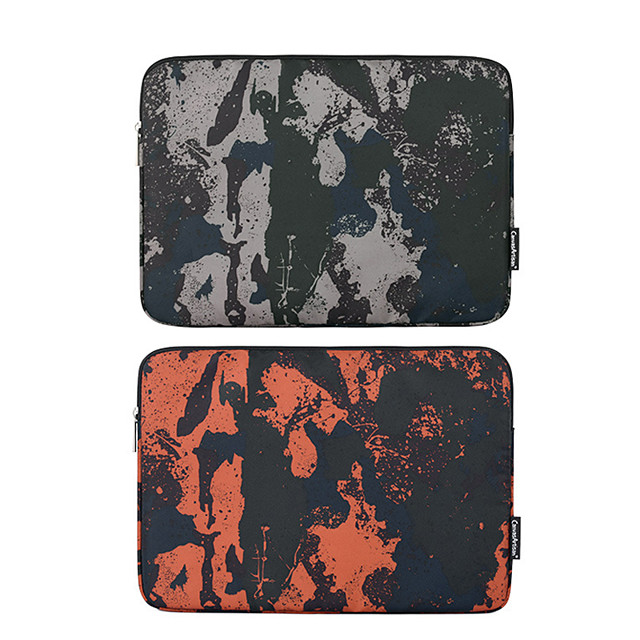 11.6 Inch Laptop / 12 Inch Laptop / 13.3 Inch Laptop Sleeve Polyester / Canvas Camouflage / Printing Unisex Waterpoof Shock Proof