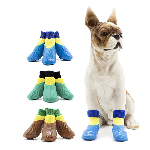 Dog Cat Boots / Shoes Waterproof Sports & Outdoors Casual / Daily Animal Sports and Outdoors Fashion For Pets Cotton Purple
