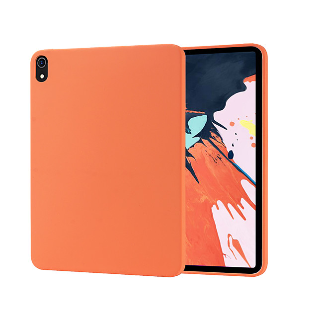 Case For Apple iPad Pro 11 iPad 10.2 iPad Pro 10.5 iPad Pro 9.7 Shockproof Back Cover Solid Colored Silica Gel PC