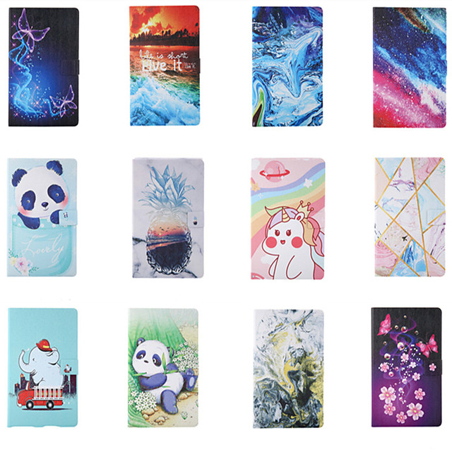 Case For Apple iPad Pro 11''  Ipad Pro 11''2020 360 Rotation Shockproof  Magnetic Full Body Cases Word  Phrase Butterfly Panda PU Leather TPU