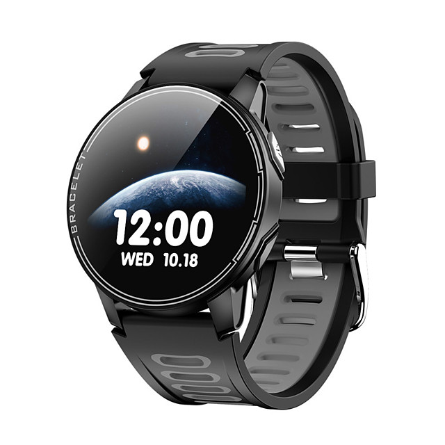 JSBP The New HL6 Smart Watch BT Fitness Tracker Full Touch Screen Smart Bracelet Heart Rate Blood Pressure Waterproof Sports Stepping Smart Watch factory for Apple/ Samsung/ Android Phones