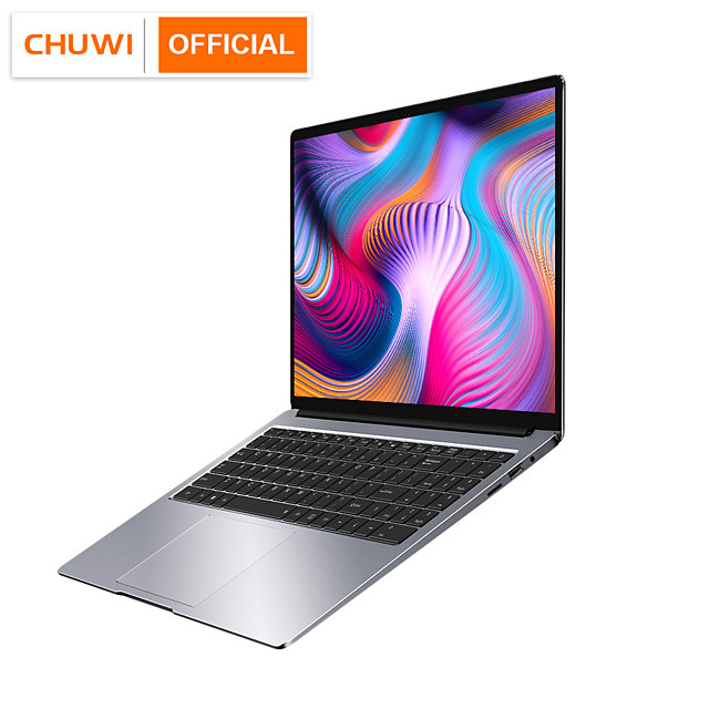 CHUWI AeroBook Plus 15.6 4K UHD Display Intel i5-6287U 8GB RAM 256GB SSD Ultra Laptops 55Wh Battery PD2.0 Fast Charging