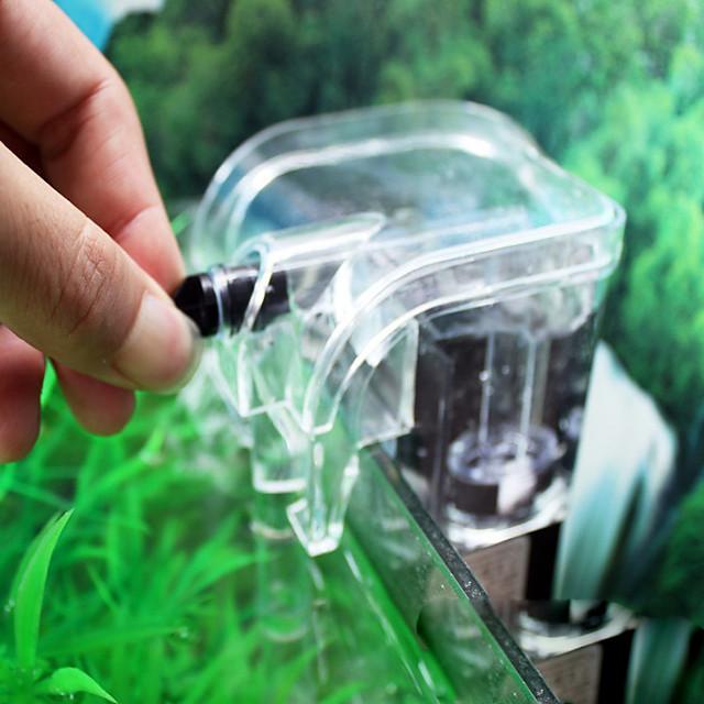 Mini Aquarium Fish Tank Waterfall Hang On External Oxygen Pump Water Filter High-performance Biochemical Cotton Filter Provide