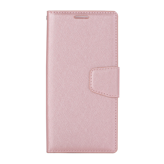 Case For Sony XA1 PLUS Card Holder Flip Magnetic Full Body Cases Solid Colored PU Leather textured