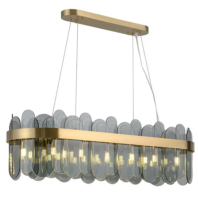 80 cm Island Design Pendant Light Acrylic Modern 110-120V 220-240V