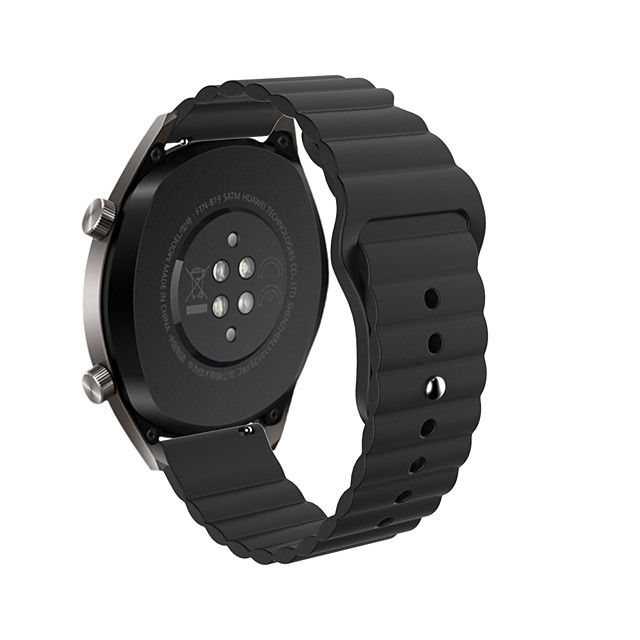 22mm Replacement Silicone Waves Wrist Strap for Huawei Watch GT Watchband