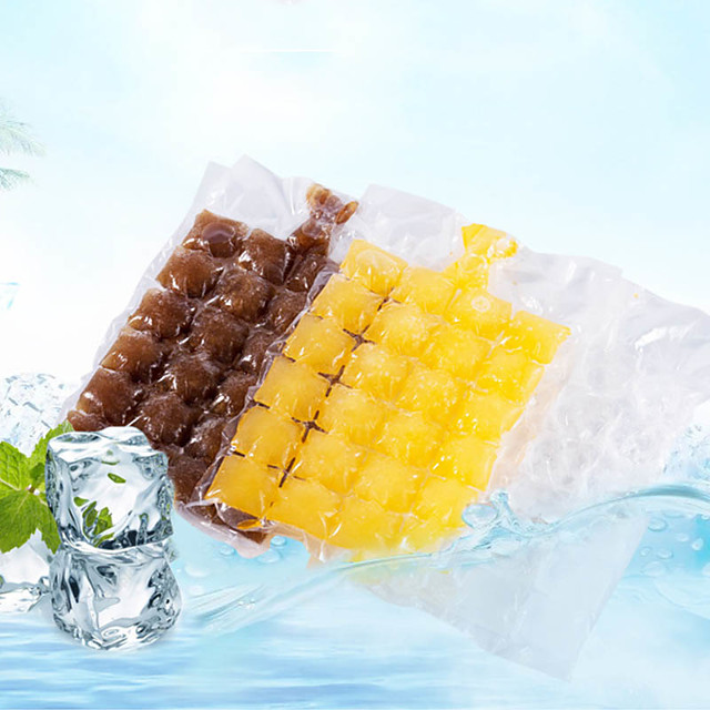 Disposable Ice-making Bags Ice Cube Tray Mold Ice Mould Ice Tray Summer DIY Drinking Tool Kitchen Gadgets