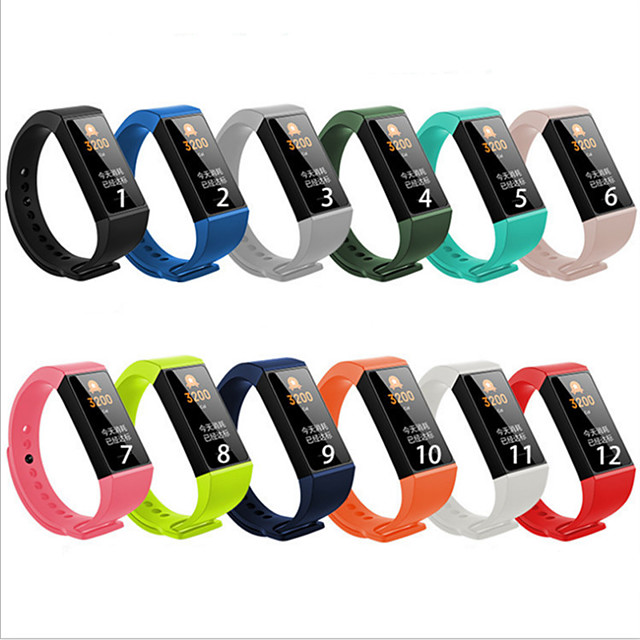 Watch Band for Redmi band Xiaomi Sport Band / Classic Buckle Silicone Wrist Strap
