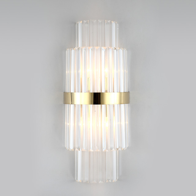 Mini Style Modern Crystal Wall Lamps & Sconces Shops  Cafes  Office Metal Wall Light IP44 220-240V 40 W