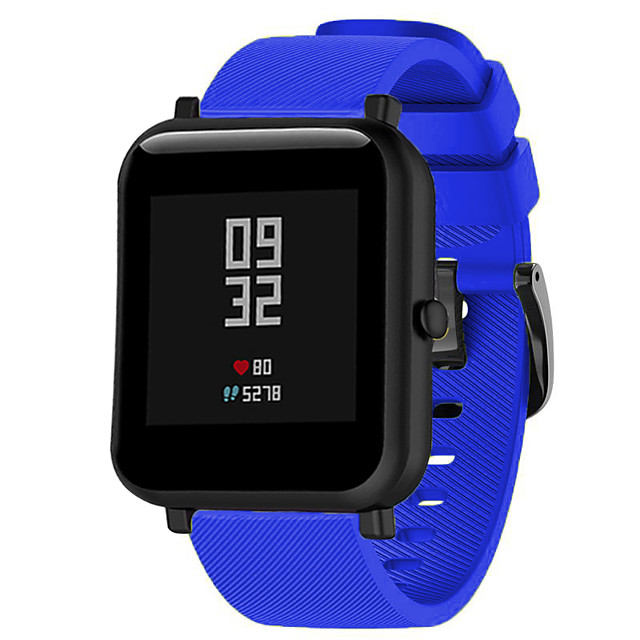 Watch Band for Huami Amazfit Bip Younth Watch Amazfit / Huawei Sport Band Silicone Wrist Strap 20mm