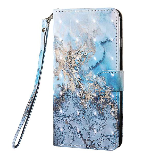 Case For LG Stylo 5 LG K61 LG K50S Wallet Card Holder with Stand Full Body Cases Milky Way PU Leather TPU for LG K40S LG Q70 LGK30(2019) LG K40(2019) LG K50