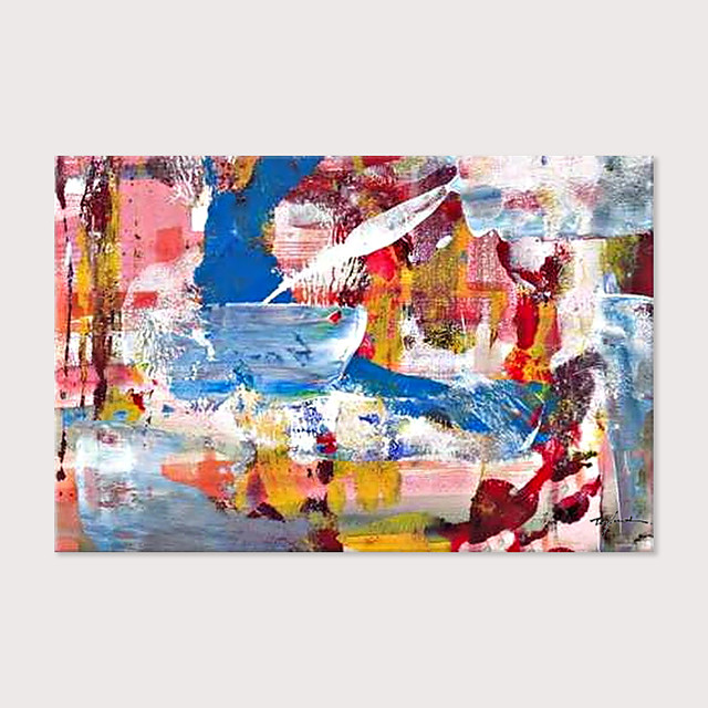 100% Hand Painted Oil Paintings  Abstract Modern Canvas Wall Art  Painting Abstract Landscapes Artwork Home Decorations for Living Room Bedroom Dining Room Wall Decor Rolled Canvas Rolled Without Fram