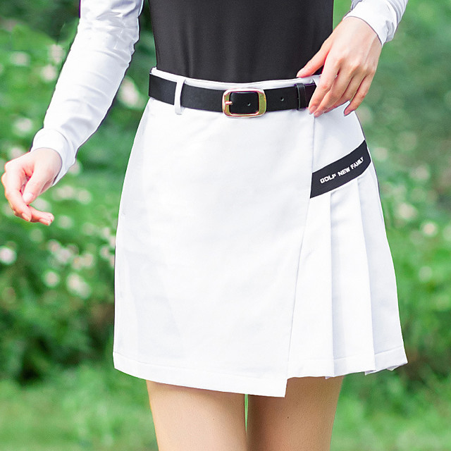 Women's Golf Outdoor Exercise Skirt Windproof Fast Dry Breathability Sports & Outdoor Summer White Black Red