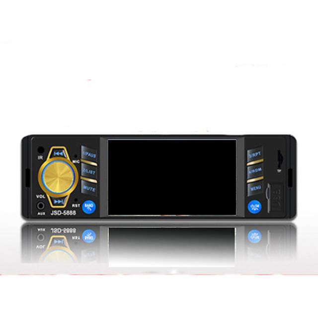 Car Multimedia Player Bluetooth Player MP5 Video Playback Touch Sensitive Screen Car Radio Backup Camera Car