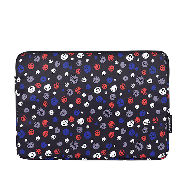 11.6 12 13.3 14.1 15.6 inch Universal Skull Skull Print Water-resistant shockproof Laptop Sleeve Case Bag for Macbook/Surface/Xiaomi/HP/Dell/Samsung/Sony Etc