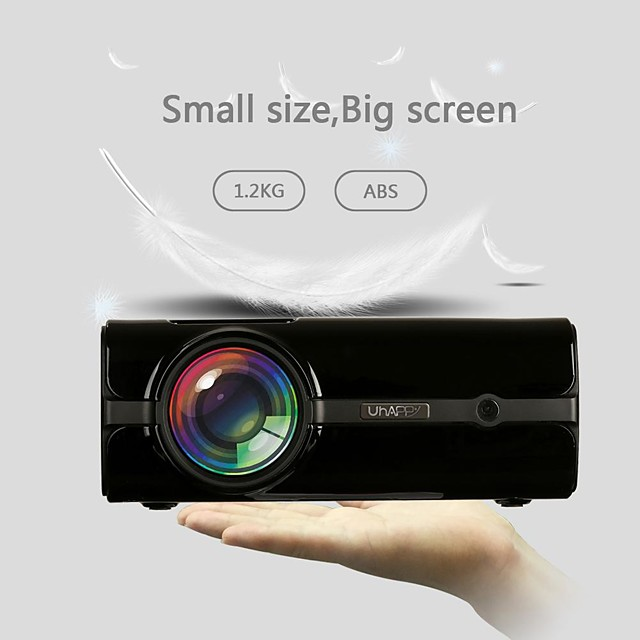 U45 HD Projector Mini Projector Portable Home Theater Entertainment Projector Supports 1080P Watching Movie