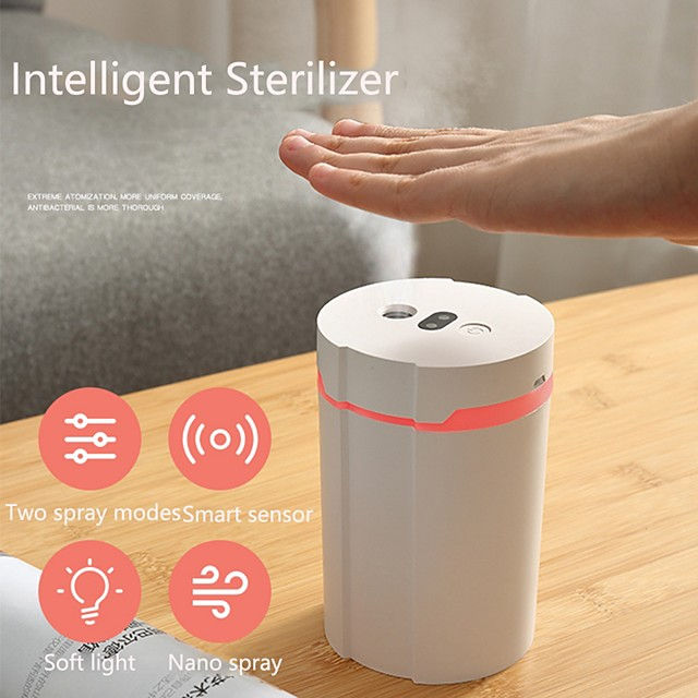 Mobile Disinfection Air Spray Humidifier USB ligent Air Purifier for Household Office