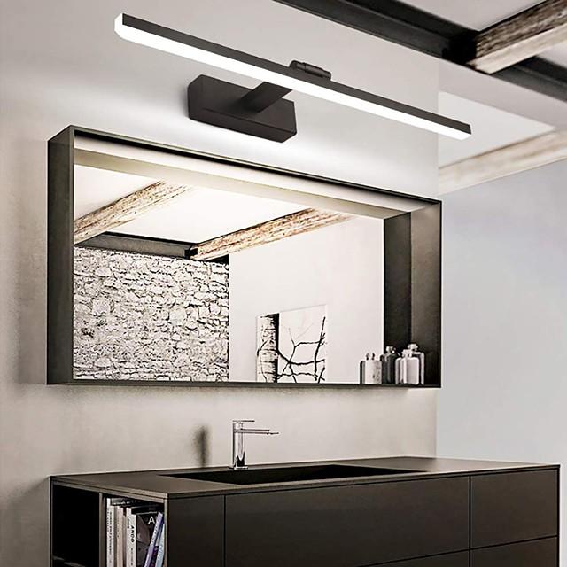 LED Mirror Front Lamp Vanity Light 50cm 12W 260 Degrees Rotatable for Bedroom Bathroom Aluminum Acrylic Wall Light IP20
