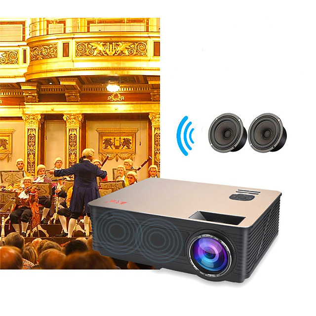 LITBest M5 LED Projector 3000 lm Android Support