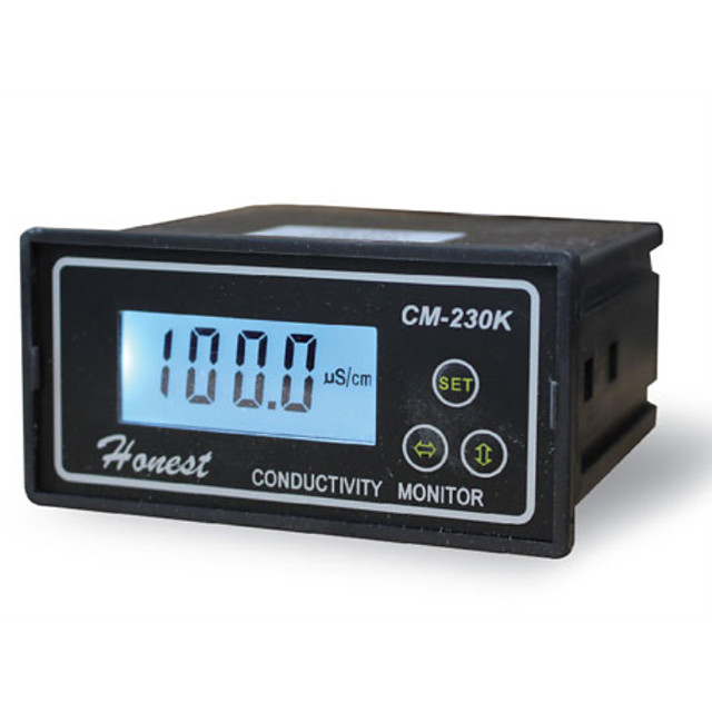 Conductivity Monitor Conductivity Tester Conductivity Meter CM-230K with Alarm