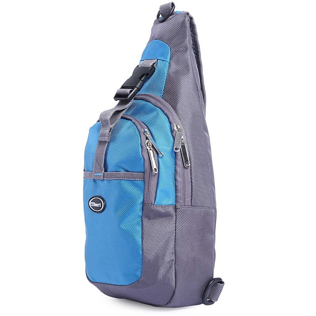 3 L Hiking Backpack Hiking Sling Backpack Lightweight Anti-Slip Waterproof Zipper Outdoor Hiking Camping Black Pink Green