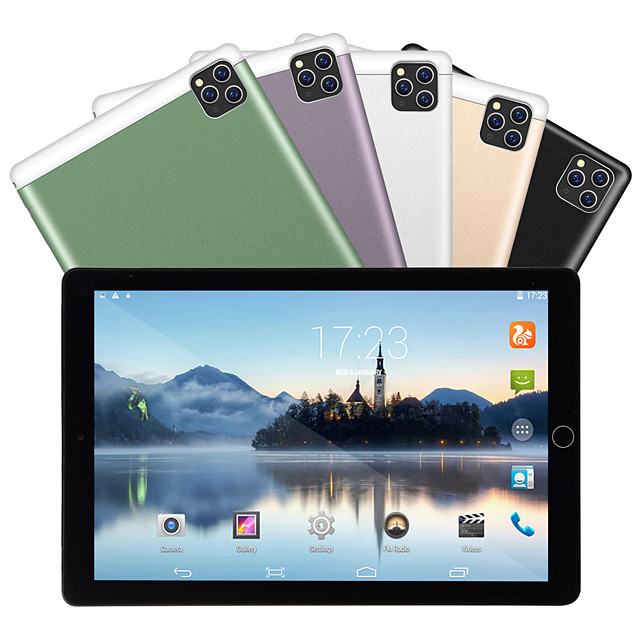 Android Tablets 3G Phone Call Sim Card 10.1 inch Android Tablet (Android 2040x1080 Octa Core 4GB 64GB)