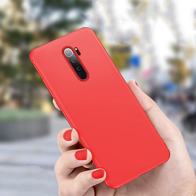 Case For Xiaomi Redmi Note 8 / Redmi Note 8 Pro Shockproof / Dustproof Back Cover Solid Colored TPU