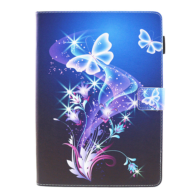 Case For Apple iPad 10.2''(2019)  iPad Pro 10.5  Ipad air3 10.5' 2019 360 Rotation  Shockproof  Magnetic Full Body Cases Word  Phrase Butterfly  Panda PU Leather  TPU
