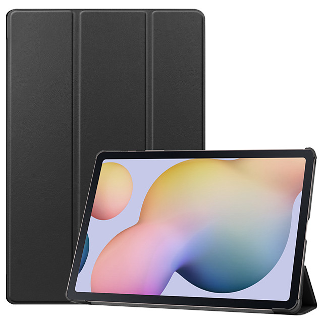 Case For Lenovo Lenovo Tab4 10(TB-X304F / N) / Lenovo YOGA TAB3 Plus 10.1(YT-X703) / Lenovo TAB4 10 Plus(TB-X704F / N) Flip Full Body Cases Solid Colored TPU / PC